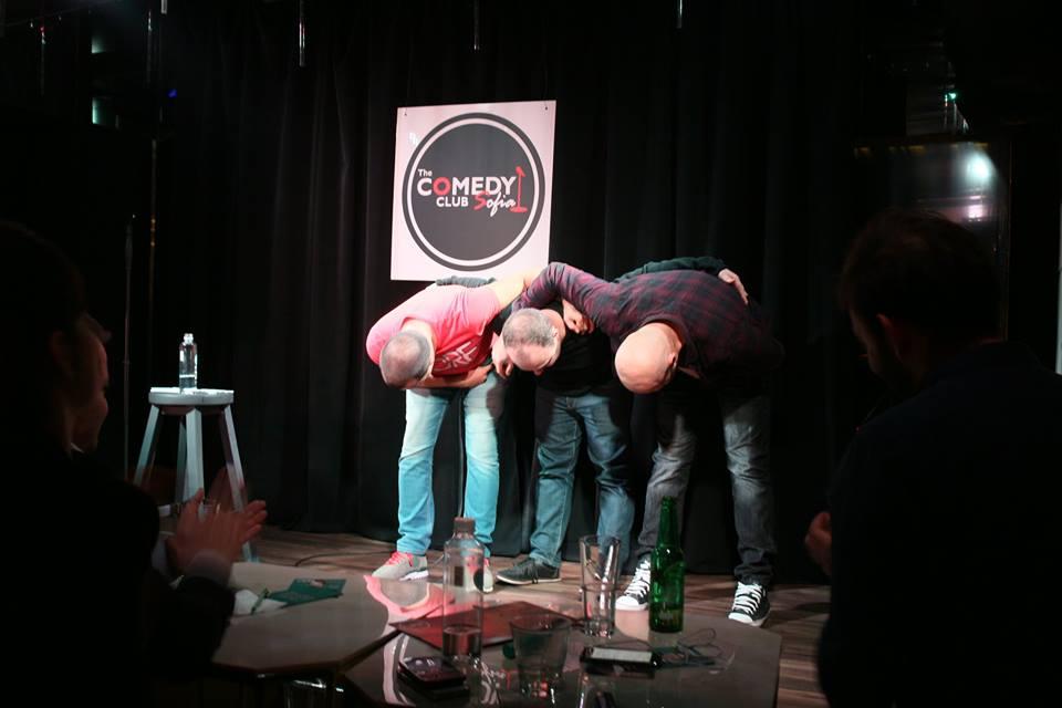 иван кирков васил ножаров ники банков стендъп комедия шоу комеди клуб софия забавна вечер стенд ъп